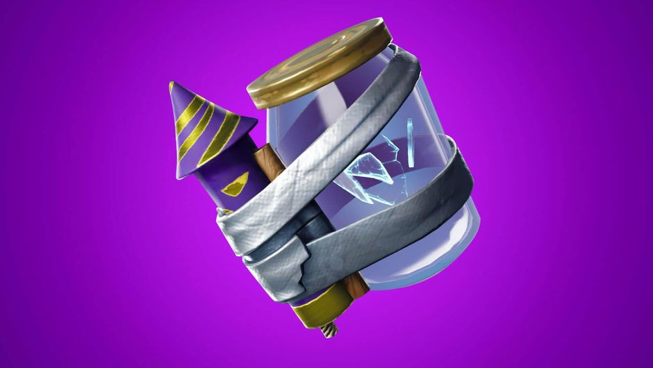 Fortnite's newly added item - the Junk Rift