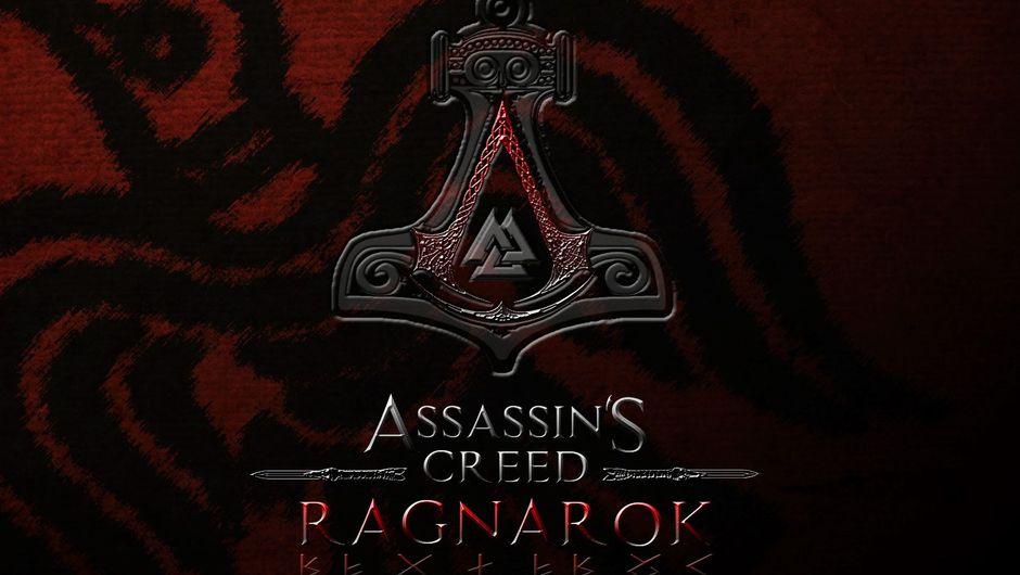artwork showing assassin's creed logo