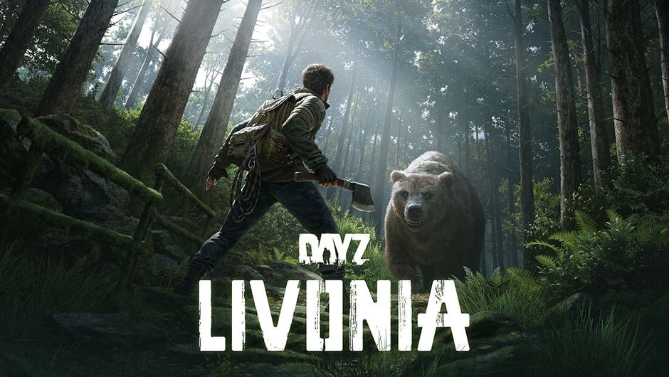 dayz screenshot showing a character  fighting against bear
