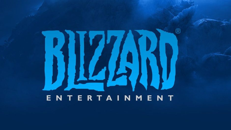 picture showing blizzard logo on dark blue background