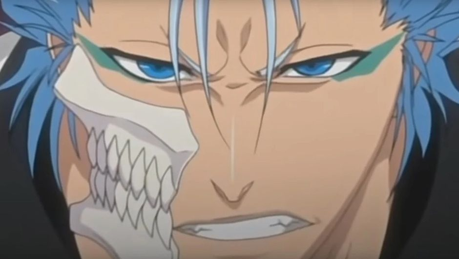 screenshot showing grimmjow from bleach