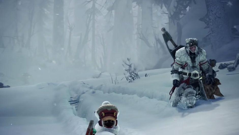 Monster Hunter: World Iceborne protagonists