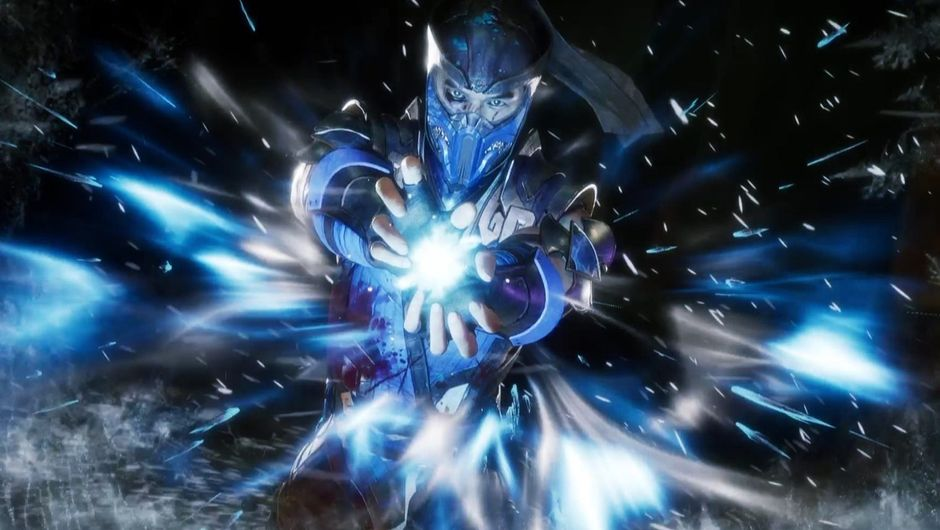 SubZero performing his fatality in Mortal Kombat 11.