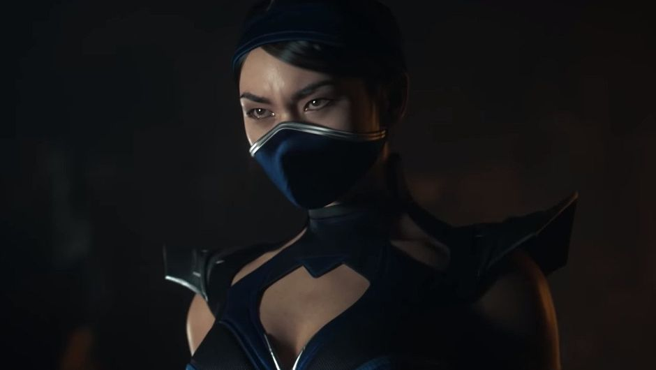 Picture of Kitana from Mortal Kombat 11