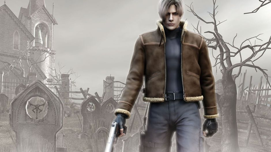Picture of Leon Kennedy in Resident Evil 4