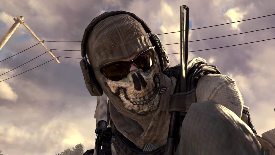 Soldier with a skull on his mask from Call of Duty: Modern Warfare 2