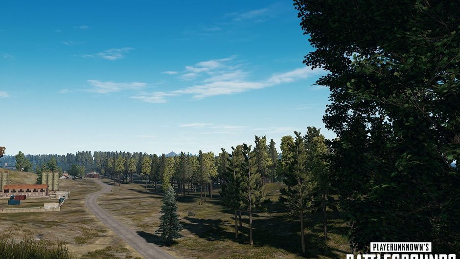 Picture of some scenery in PUBG after the latest update