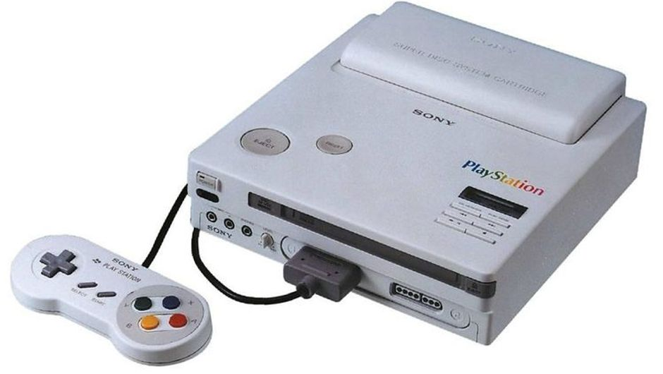 First version of Sony's PlayStation produced by Nintendo