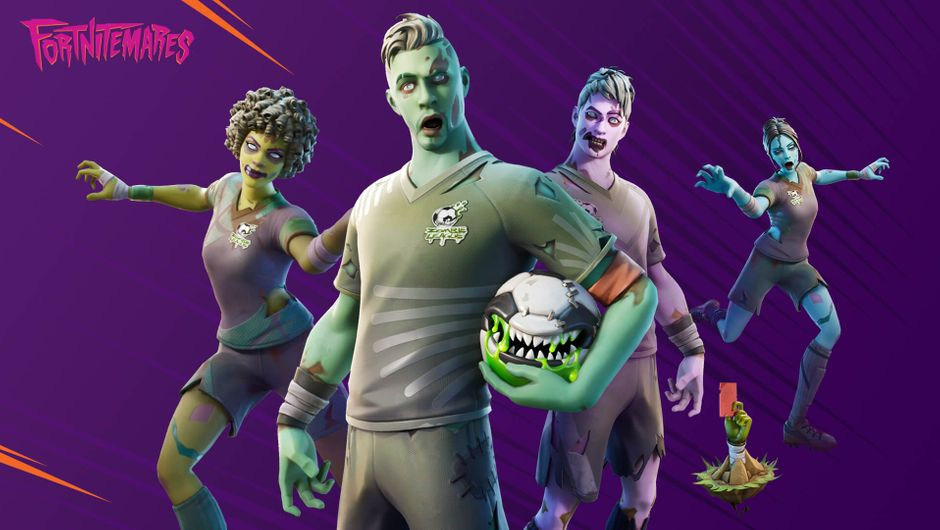 Ghoulish Fortnite characters from Fortnitemares