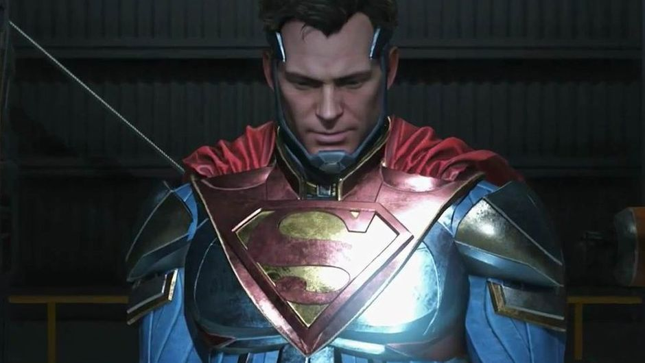 picture showing superman in injustice 2