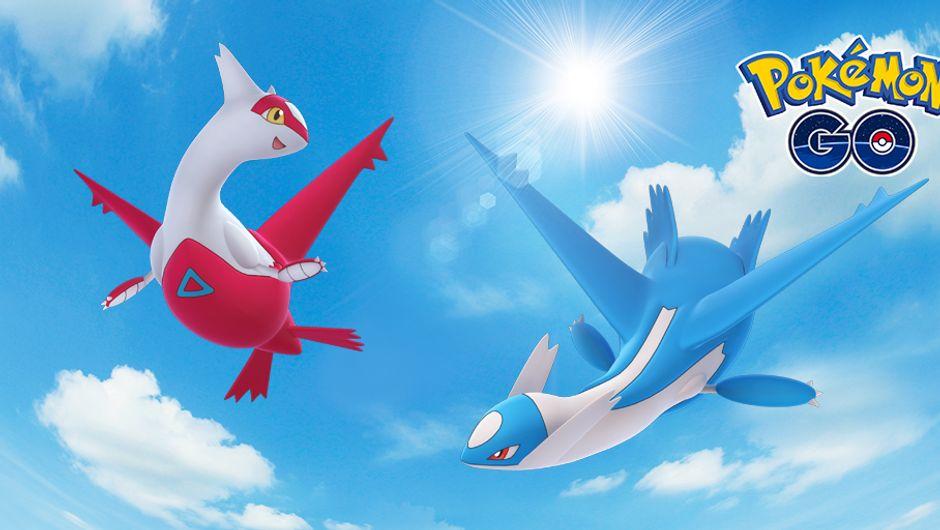 Pokemon Go - Latias and Latios