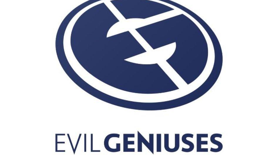 Evil Geniuses Dota 2 esports logo on white background