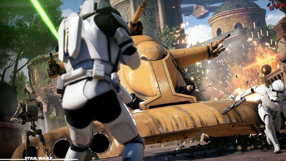 Stormtroopers fighting