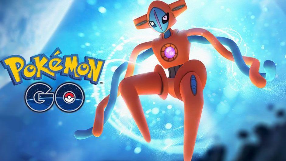 Deoxys, mythical Pokemon from Hoenn region