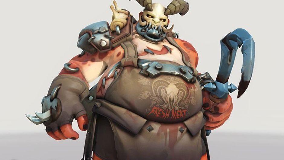 Overwatch - Legendary Roadhog skin