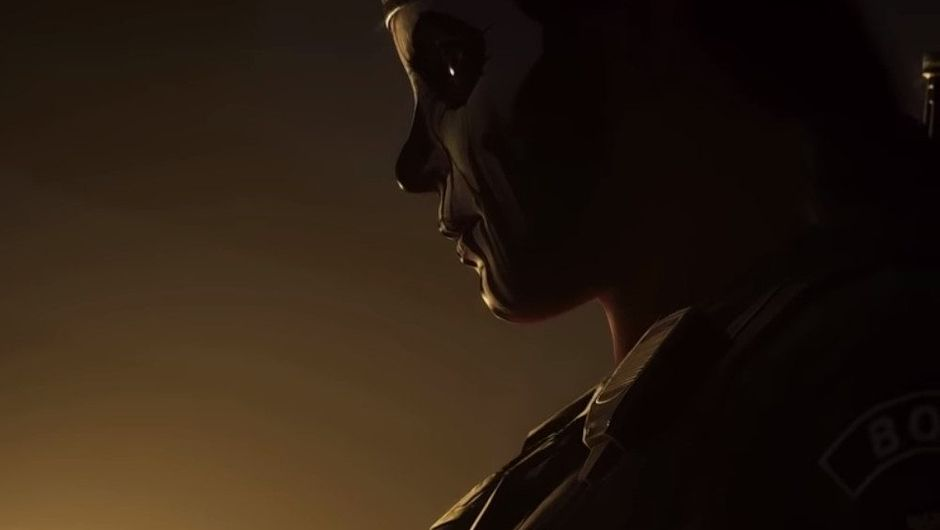 Picture of Caveira during her cameo in Ghost Recon Wildlands