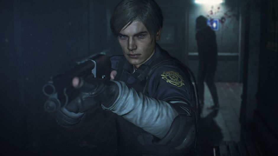 picture showing leon from Resident Evil 2