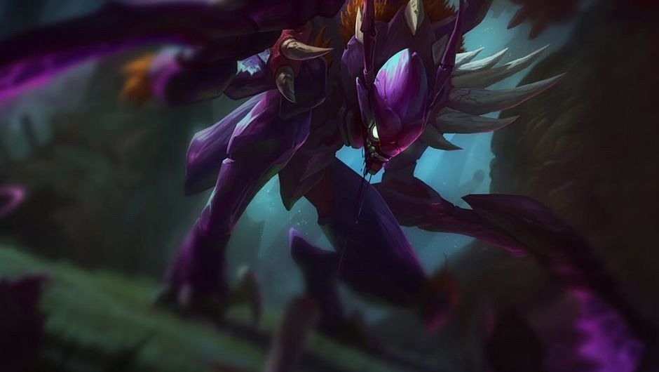 Splash art for Kha'Zix in League of Legends
