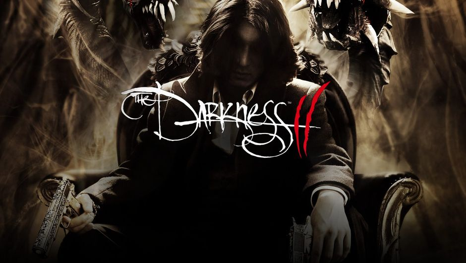 Promotional image for The Darkness 2 showing the game's protagonist, Jackie Estacado.