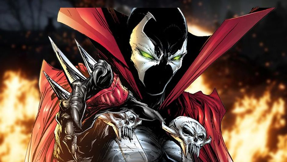 picture showing a comic book character Spawn