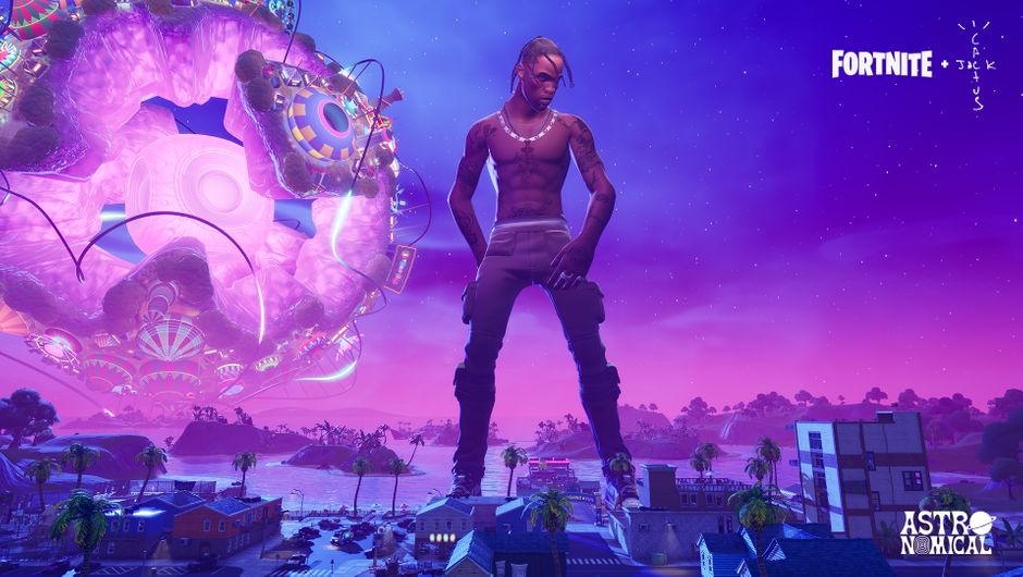 Fortnite S Travis Scott Astronomical Event Concludes With Record Numbers