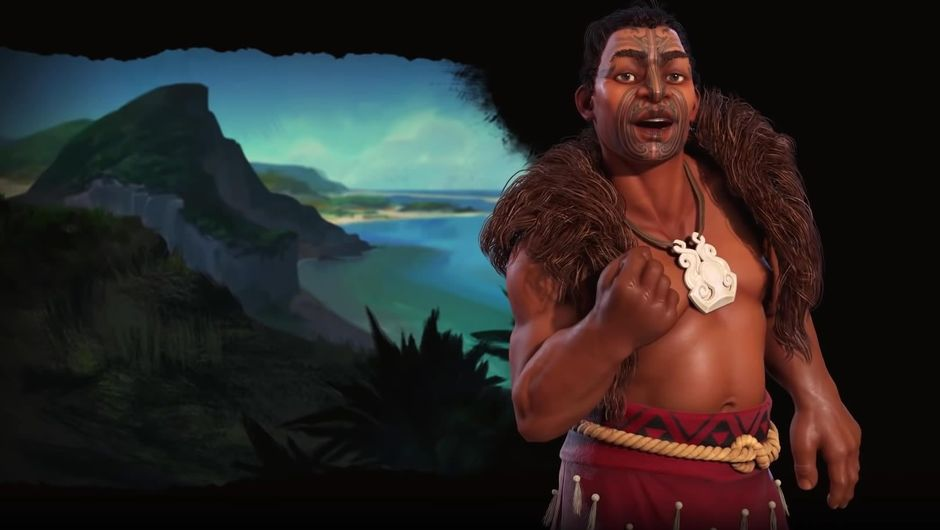 Maori leader from Firaxis Games' strategy Civilization VI