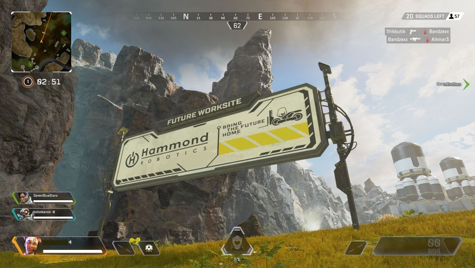 Hammond Robotics billboard in Apex Legends