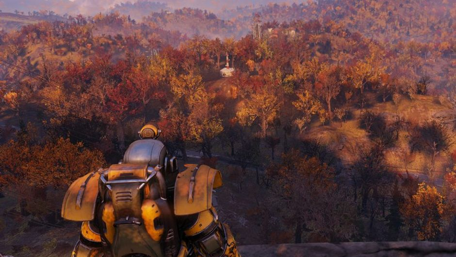 picture showing landscape in fallout 76