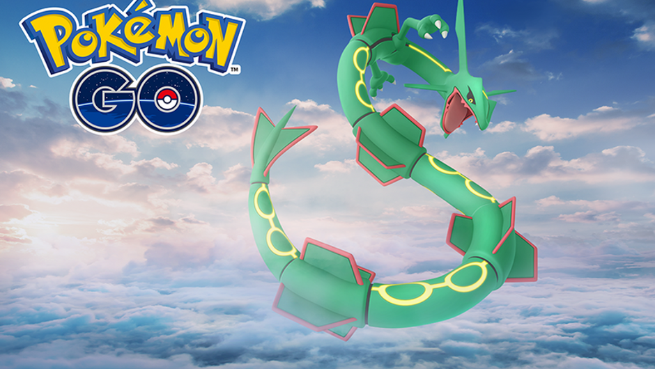 Rayquaza in Pokemon GO