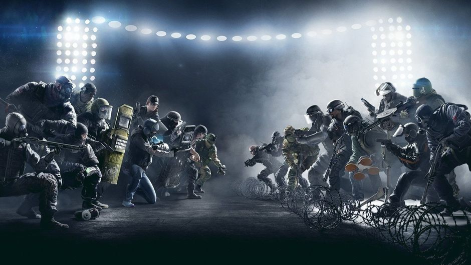 Promotional image for Rainbow Six Siege