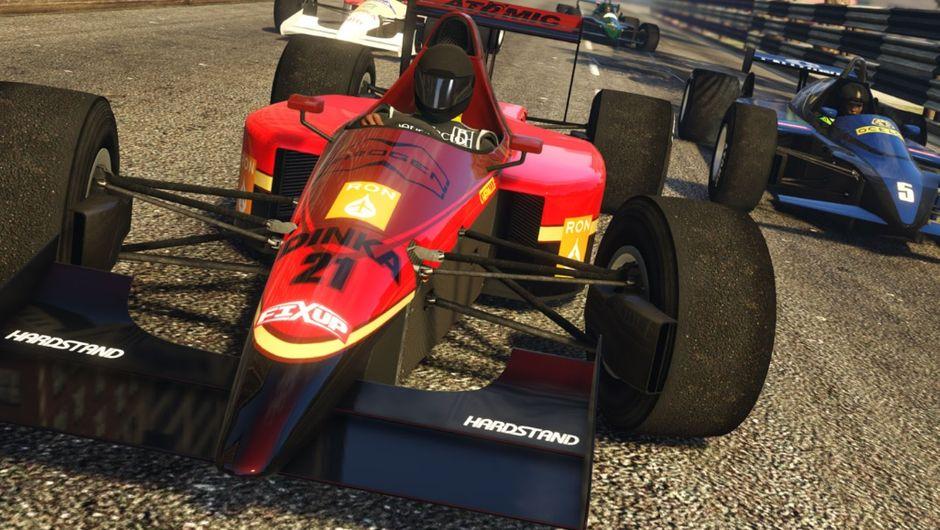 GTA Online open wheel racing
