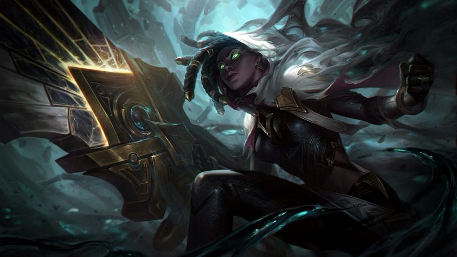 Picture of League of Legends champion Senna