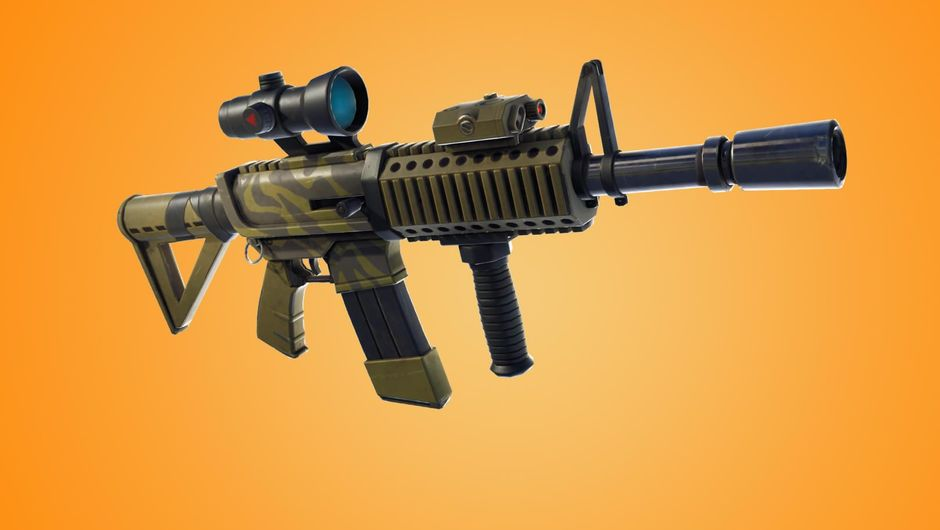 Fortnite's latest addition, the thermal scoped assault rifle