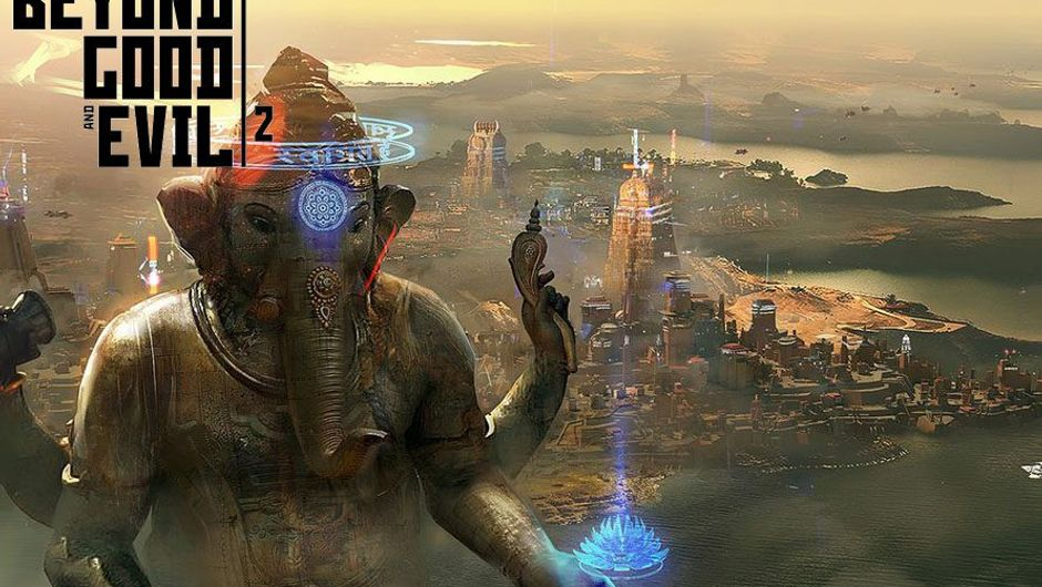 A picture of a statue of Ganesha, which is seems to be a deity in Beyond Good & Evil 2
