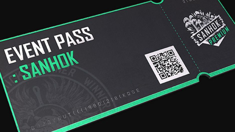 Picture of the Sanhok Event Pass in PUBG