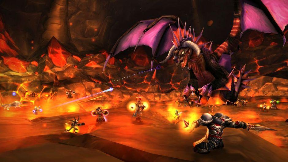 World of Warcraft Onyxia fight