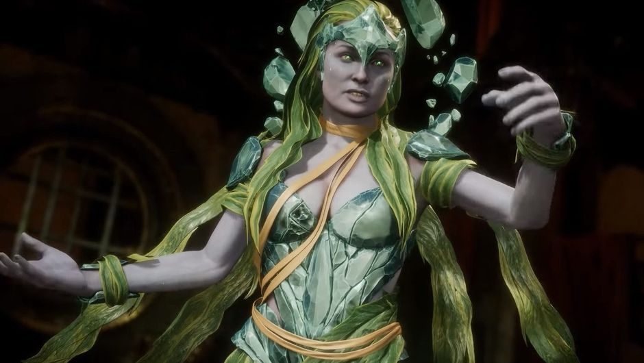 Picture of Cetrion from Mortal Kombat 11