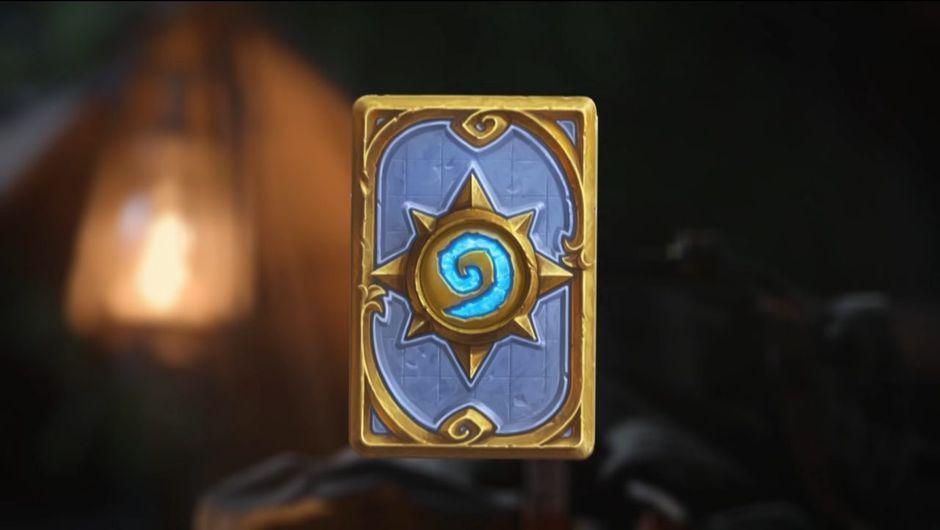 Card back design for Blizzard's Hearthstone: Journey to Un'Goro