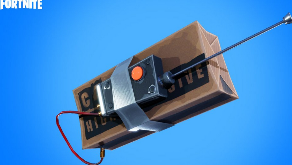 Remote explosive that looks like a chocolate bar duct taped to a remote controller.