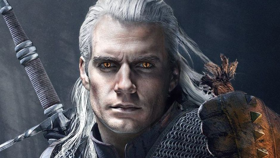 picture showing Henry Cavill in The Witcher series