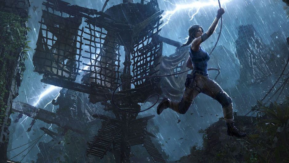 picture showing female character jumping