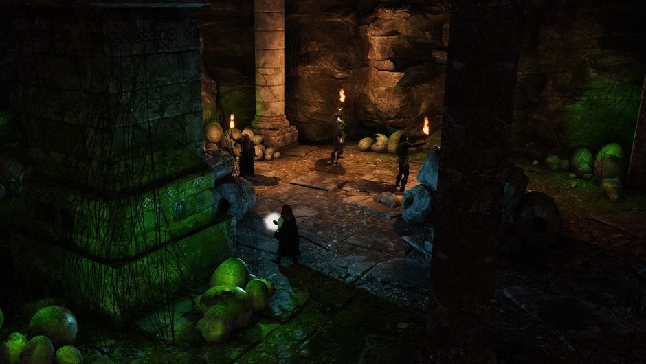 Promotional screenshot for Solasta: Crown of the Magister