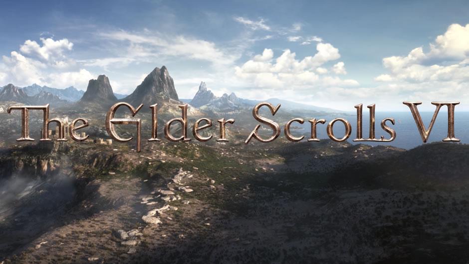 The Elder Scrolls 6 poster showing a vast landscape